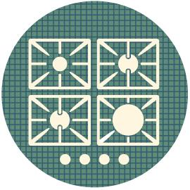 Küchenabluft, Küchenabluftreinigung, Gastronomieabluft, gewerbliche Küchenabluft, Küchenabluftkanal