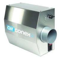 Die Plasma-Clean Airconex-Einheit ist dafür ausgelegt, die Luft innerhalb der Kanäle von Lüftungssystemen und Abluftanlagen zu ionisieren