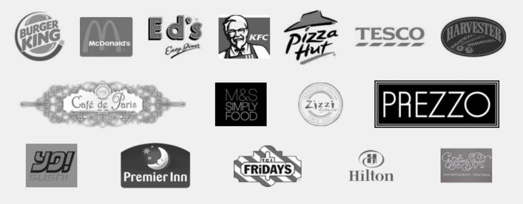 Kunden von Plasma Clean zur Filterung der Gastroabluft: KFC, Burger King, Pizza Hut
